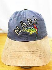 NADC LIEBHERR BASEBALL HAT CAP PARROT CLUE DISTRESS LOOK OSFM ADVERTISING BUCKLE