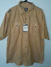 New Enyce Honey Men Shirt Woven Urban Street Wear Stylish Casual Button Up XL