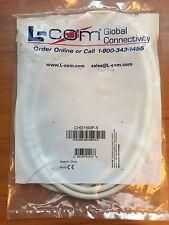 NEW L-COM Molded D-Sub Cable, HD15 Male/Female White CHD15MF-5 5.0 ft