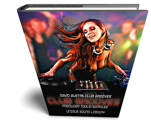 David Guetta Club Grooves - Large Essential WAVE samples/loops studio library