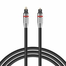 1m OPTICAL CABLE DIGITAL AUDIO LEAD TOSLink DTS SKY SURROUND SOUND VIRGIN 5mm