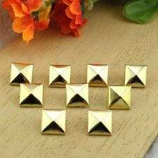 50-100pcs Fashion Pyramid Shape Metal Punk Stud for Clothing Leathers Craft Bags