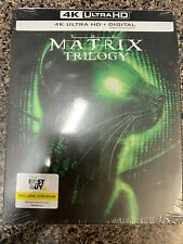 Read! Bent Case* The Matrix Trilogy Collection 4K Ultra Uhd Digital Steelbook A1