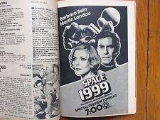 1975 TV Guide(SPACE:1999/RALPH  WAITE/DONNA  DOUGLAS/THE  WALTONS/LIZZIE BORDEN)