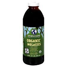 Wholesome Sweeteners: Organic Molasses, 32 oz