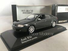 "MINICHAMPS 1/43 Audi RS6 ""2002"" Black Met. Art. 400011701"