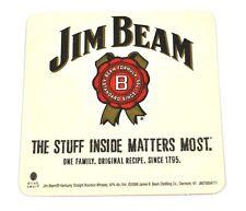 Jim Beam Bourbon Whiskey Bierdeckel Untersetzer Coaster USA - The Stuff Inside