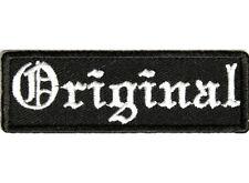 ORIGINAL Embroidered Jacket Vest Funny Saying Biker Patch Independent Emblem