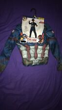 Marvel's Captain America Halloween  Costume Size L(10-12) NWT Dress up/Cosplay