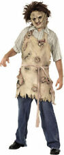 Morris Men's Tv & Movie Characters Leatherface Latex Apron One Size. RU1075