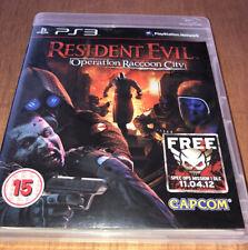 RESIDENT EVIL OPERATION RACOON CITY PS3 V.G.C. (action, FPS & survival horror)