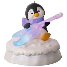 Hallmark 2017 Groovin Guitar Merry Music Makers  Penguin Power Cord Ornament