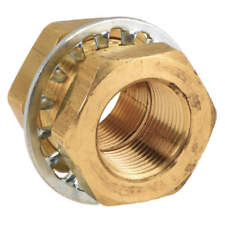 3//8 and 1//2 Pack of 20 Parker 68RB-8-6B-pk20 Air Brake Hose End Fitting Hose to Pipe Hose Connector Body Brass 3//8 and 1//2 Pack of 20