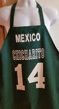Mexico Chicharito #14 Jersey Mandil Apron Soccer Cooking