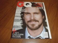 GQ Magazine-CHRISTIAN BALE-Mint Condition-March 2007