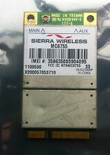 QUALCOMM GTM378E / M00201 UMTS HSDPA 3G GPS Mini PCIe Card - UNLOCKED / SIM FREE