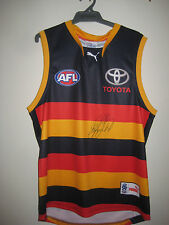 ADELAIDE- PATRICK DANGERFIELD HAND SIGNED JERSEY UNFRAMED + PHOTO PROOF &  C.O.A