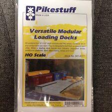 Pikestuff 17 Loading Docks Modular Kit HO Scale RIX   MODELRRSUPPLY    $5 Coupon