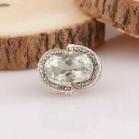 GREEN ONYX Gemstone Ring Size 7 925 Solid Sterling Silver HANDMADE Jewelry