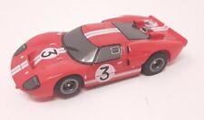 Tomy AFX Mega-G Gurney Red #3 Ford GT40 #71247 HO Slot Car DISCONTINUED