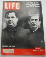 Life Magazine Love Among The Irish Malenkov And Joseph Stalin March 1953 020215R