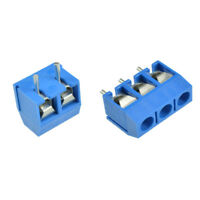 10/50PCS Connector Connect Terminal Block 5.08mm Screw 2/3 way Pin KF301 US