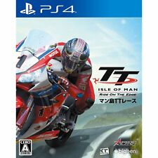 Man Shima TT Race Ride on the Edge SONY PS4 PLAYSTATION 4 JAPANESE VERSION
