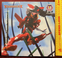 EVANGELION EVA 02 PVC ACTION FIGURE MODEL KAIYODO REVOLTECH JAPAN COMPLETE MIB!