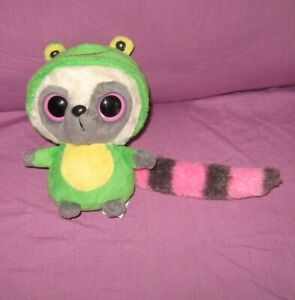 "Yoo Hoo & Friends 6"" plush toy RACOON green costume FROG Aurora tags"