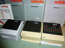 marklin   ENSEMBLE de 3 transfos  DIGITAL 6002 + 6027 + 6043