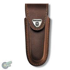 VICTORINOX brown Sheath Swiss Army Knife Pouch Case Belt 0.9064 35565 WorkChamp