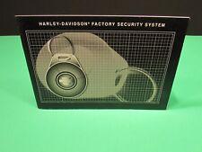 Harley Davidson FL Touring Models Factory Security System Manual 99962-06