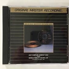 Jazz Sampler MFSL Original Master Recording Mobile Fidelity Sound Lab 24K Gold
