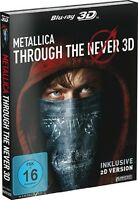 METALLICA THROUGH THE NEVER-BLU-RAY 3D-STEELBOOK   2 BLU-RAY NEW+