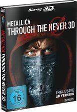 METALLICA THROUGH THE NEVER-BLU-RAY 3D-STEELBOOK   2 BLU-RAY NEW+