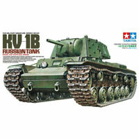 Tamiya 1/35 Russian KV-1B Tank Ltd Edt. 35142 Military Model Kit