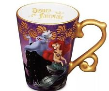 Lot of ALL 5 Disney Fairytale Designer Heroes Vs Villains Collection Mugs  LE