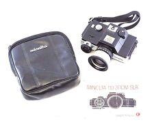 Minolta 110 Zoom SLR Vintage 1976 Japan 110z 707E B7 w/ Case and Manual