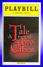 Playbill + A Tale of Two Cities + Aaron Lazar , James Barbour, Brandi Burkhardt