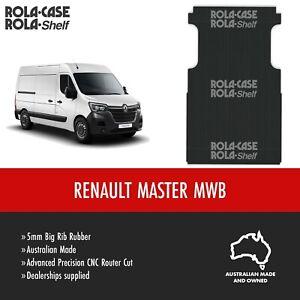 Renault Mater MWB Genuine Van Flooring 5mm Big Rib Cargo Rubber Mat Computer Cut