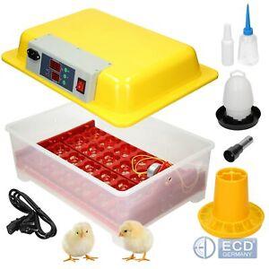 Inkubator Brutkasten Vollautomatische Brutmaschine Brutapparat 24 eier