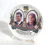 Vtg1986 Wedding Souvenir Porcelaine Prince Andrew Sarah Ferguson Wedding #B12