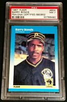 1/1 CURSIVE RC AUTO BARRY BONDS *FULL NAME *MEGA RARE PSA/DNA ROOKIE *1987 Fleer