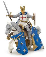 Papo 39841 Saint Louis and His Horse Mount Set Toy Model 2014 - NIP