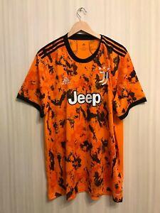 5+/5 Juventus 2020/2021 3rd Sz 2XL Adidas shirt jersey soccer third football XXL
