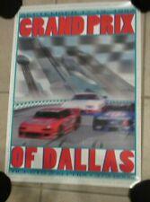 September 1993 Grand Prix Of Dallas Poster