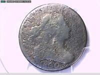 1800 Large Cent PCGS Genuine Env. Damage - P/FR Details 26841907 Video