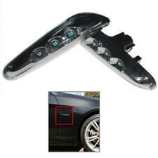 LED Left & Right Side Marker Turn Signal Lights Fit BMW E90 Sedan BMW E91 Wagon