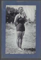 1930's Beehive Olympic Swimmer Charlotte Acres Premium Photo