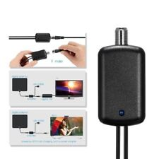 25dB HDTV Antenna Amplifier Indoor Signal Booster USB TV High Gain Channel Boost